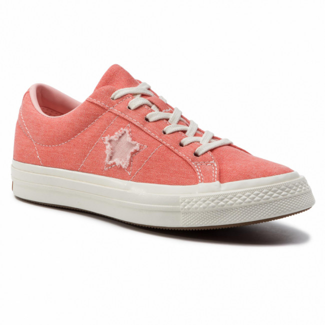 Tenisky CONVERSE - One Star Ox 164362C Turf Orange/Bleached Coral