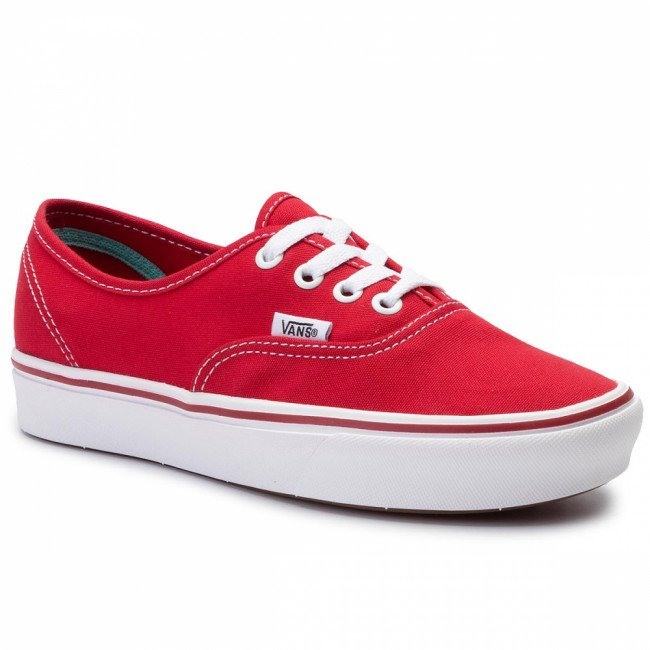 Tenisky VANS - Comfycush Authe VN0A3WM7VNF1 (Classic) Racing Red/True