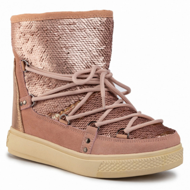 Topánky COLORS OF CALIFORNIA - HC.YSNOW02 Taupe