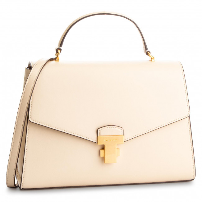 Kabelka TORY BURCH - Juliette Top-Handle Satchel 51022 New Cream 122