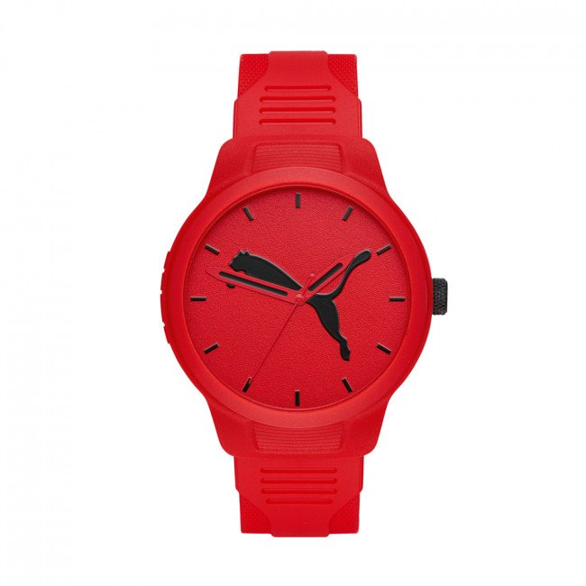 Hodinky PUMA - Reset P5003 Red/Red