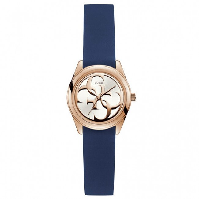 Hodinky GUESS - Micro G Twist W1146L2 BLUE/ROSE GOLD TONE