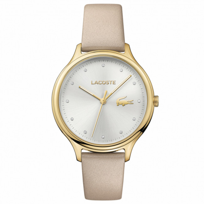 Hodinky LACOSTE - Constance 2001007 Beige/Gold