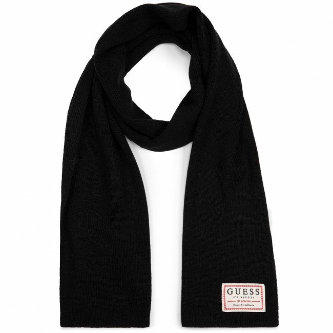 Šál GUESS - Not Coordinated Scarves AM8584 WOL03 BLA