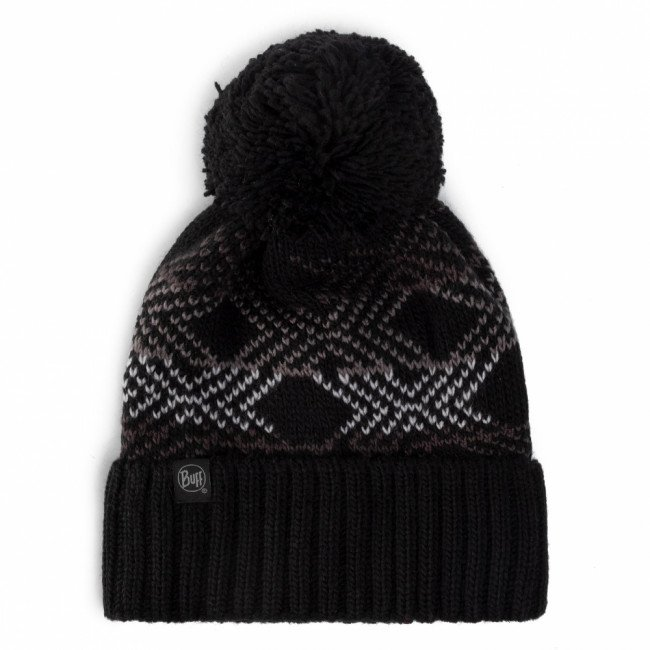 Čiapka BUFF - Knited & Polar Hat 120858.999.10.00 Garid Black