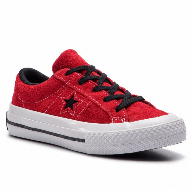 Tenisky CONVERSE - One Star Ox 363691C Enamel Red/Black/White