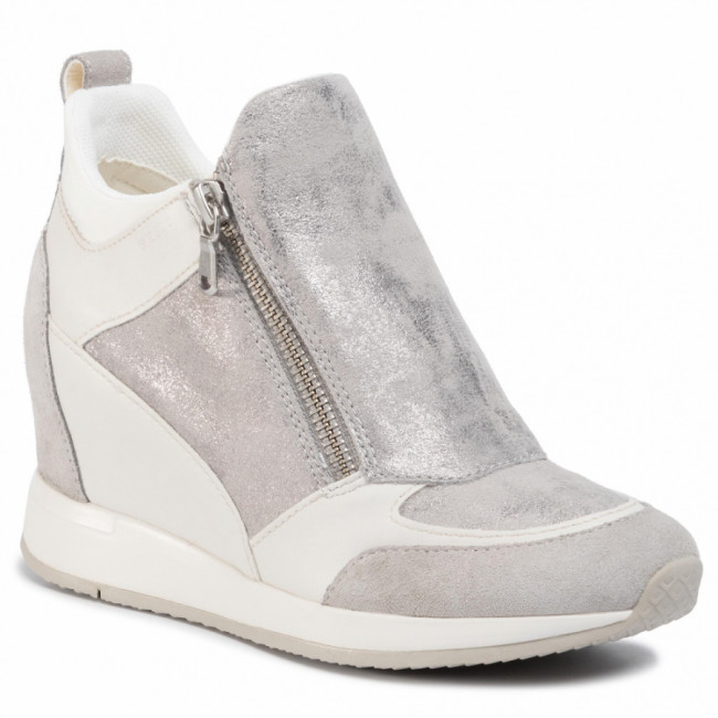 Sneakersy GEOX - D Nydame E D020QE 07722 C1010 Lt Grey