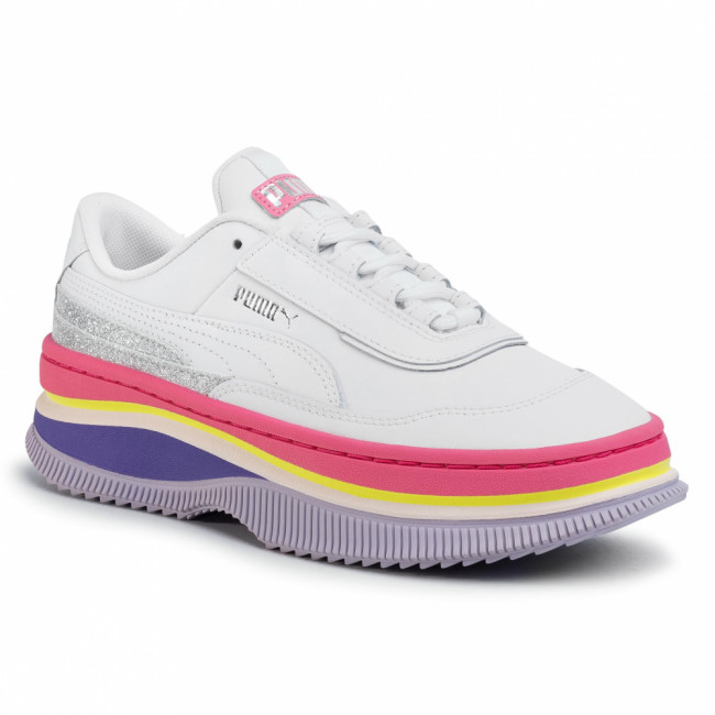 Sneakersy PUMA - Deva 90's Pop Wn's 371201 01 Puma White/Bubblegum