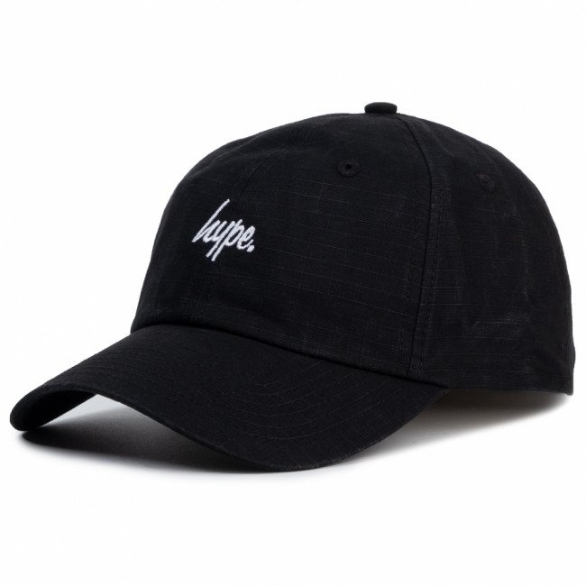 Šiltovka HYPE - Dad Hat Mini Script HY006-0110 Black/White