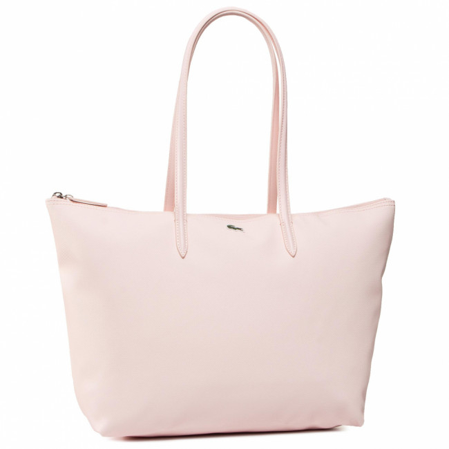 Kabelka LACOSTE - L Shopping Bag NF1888PO Pearl