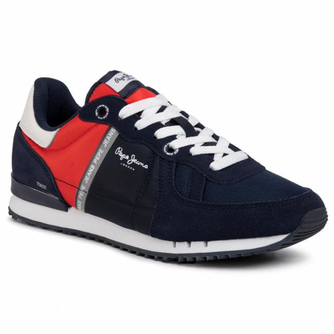 Sneakersy PEPE JEANS - Tinker Zero PMS30612 Navy 595
