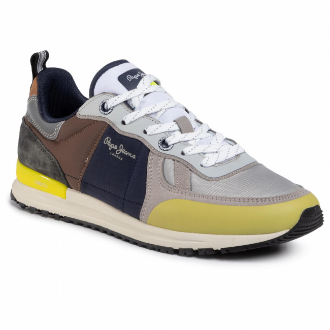 Sneakersy PEPE JEANS - Tinker Pro Sup PMS30622 Light Grey 905