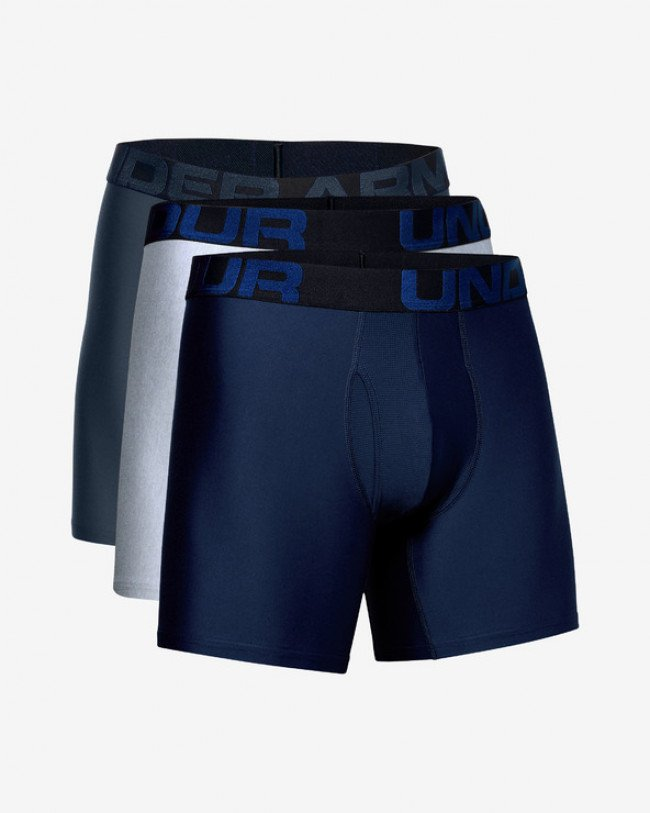 "Under Armour Tech™ 6"" Boxerky 3 ks Modrá Šedá"
