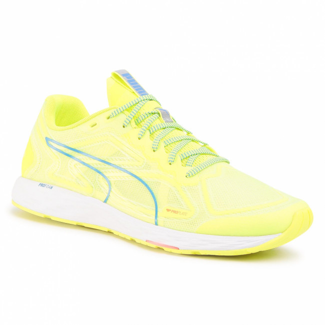 Topánky PUMA - Speed 300 Racer 2 193104 01 Yellow/White/Palace Blue