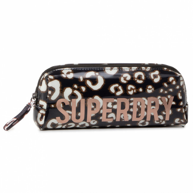 Peračník SUPERDRY - Jelly Pencil Case W9810025A  Leopard Print