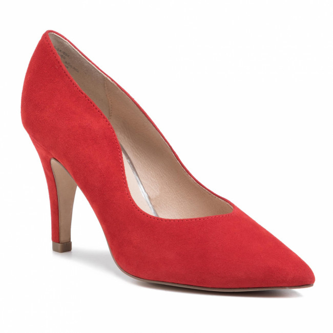 Lodičky CAPRICE - 9-22403-24 Red Suede 524