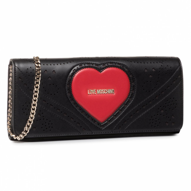Kabelka LOVE MOSCHINO - JC4220PP0AKC100A  Nero/Rosso