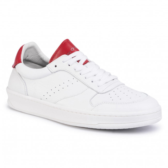 Sneakersy MARC O'POLO - 002 25733501 100 White/Red 105
