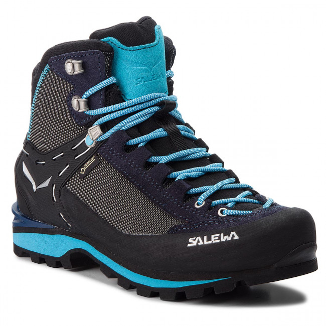 Trekingová obuv SALEWA - Crow Gtx GORE-TEX 61329-3985 Premium Navy/Ethernal Blue