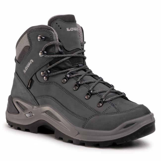 Trekingová obuv LOWA - Renegade Gtx Mid GORE-TEX 310945 Graphite/Light Grey 9726