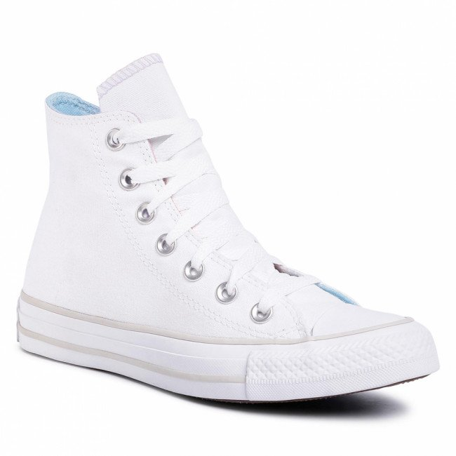 Tramky CONVERSE - Ctas Hi 567737C White/Multi/pale Putty