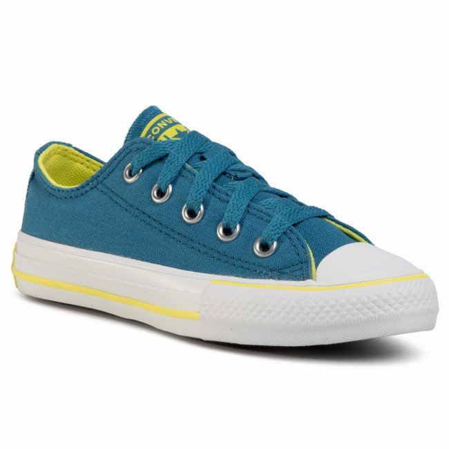 Tramky CONVERSE - Ctas Ox 667790C Egyptian Blue/Zinc Yellow