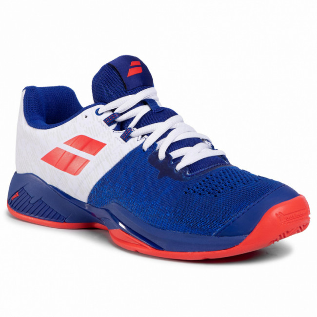 Topánky BABOLAT - Propulse Blast Clay Men 30S20446 imperial Blue/White