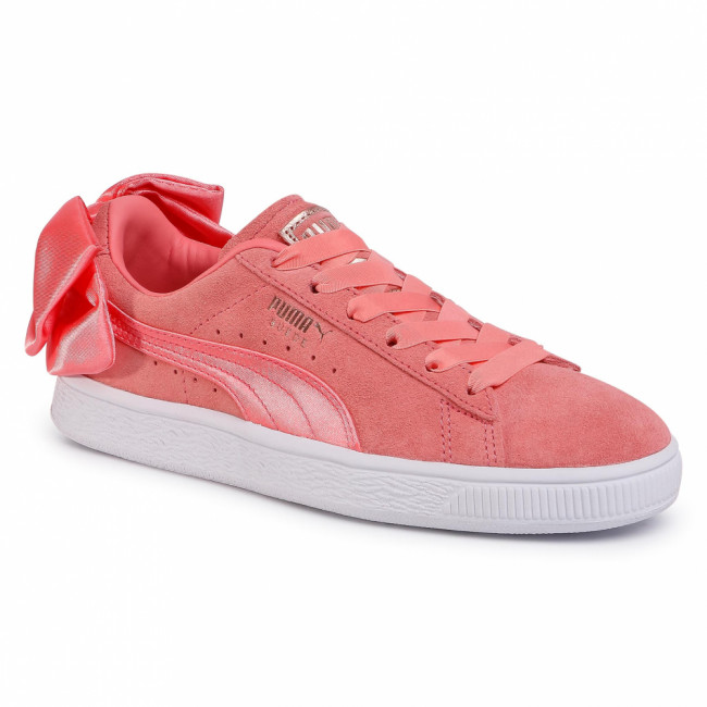 Sneakersy PUMA - Suede Bow Wn's 367317 01 Shell Pink/Shell Pink