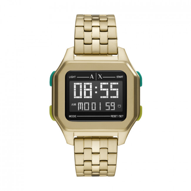 Hodinky ARMANI EXCHANGE - Shell AX2950 Gold/Gold