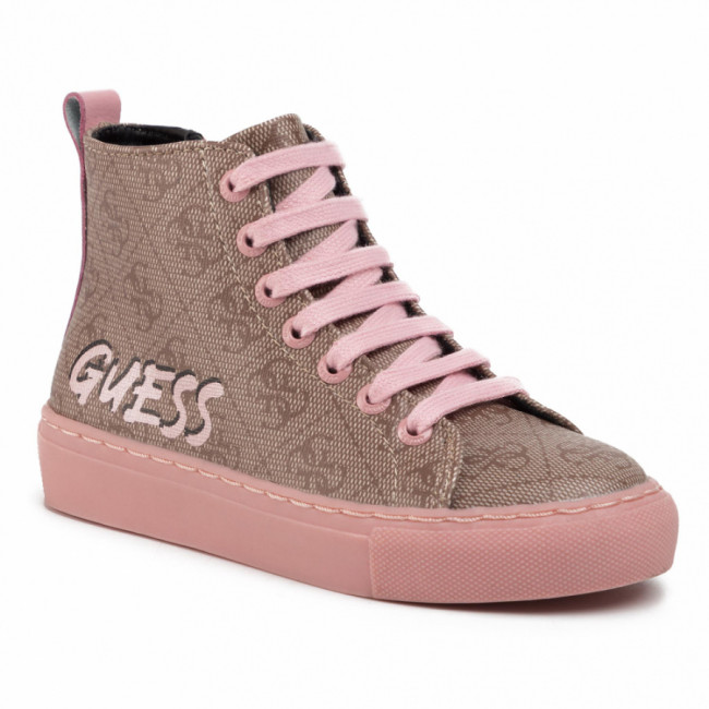 Sneakersy GUESS - Lucy Hi FI5LUH FAL12  ROSE