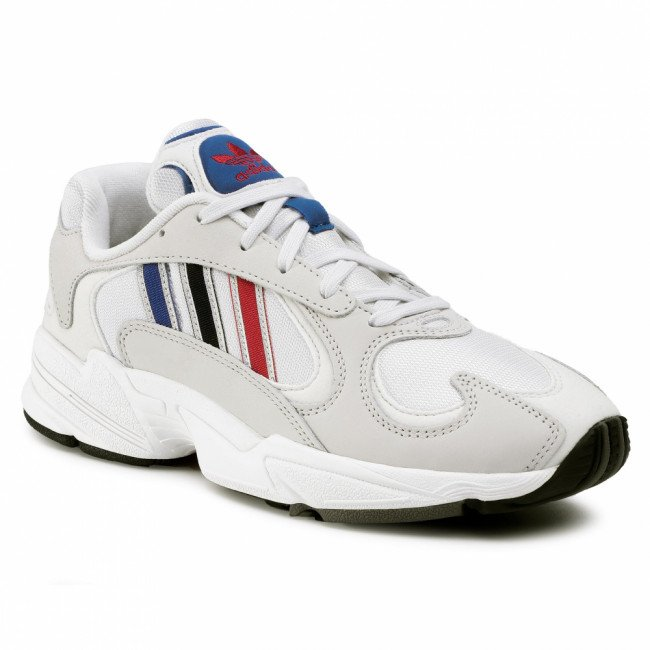 Topánky adidas - Yung-1 FV4730  Crywht/Silvmt/Cblack