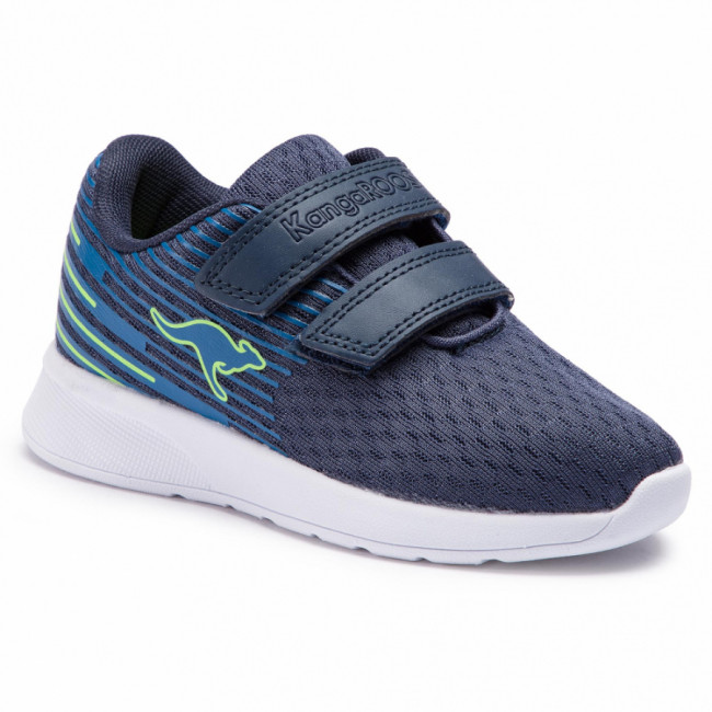 Topánky KANGAROOS - Kf Act V 18346 000 4054 Dk Navy/Lime