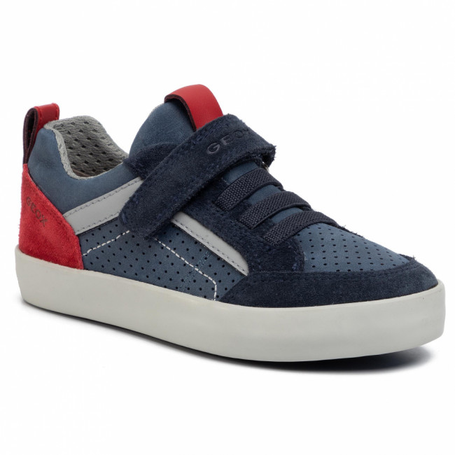Sneakersy GEOX - J Kilwi B. E J02A7E 0CL22 C4244 S Navy/Dk Red