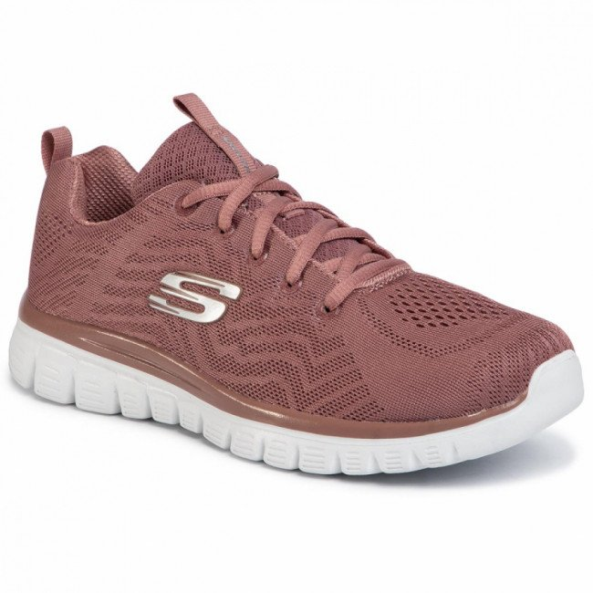 Topánky SKECHERS - Get Connected 12615/MVE Mauve