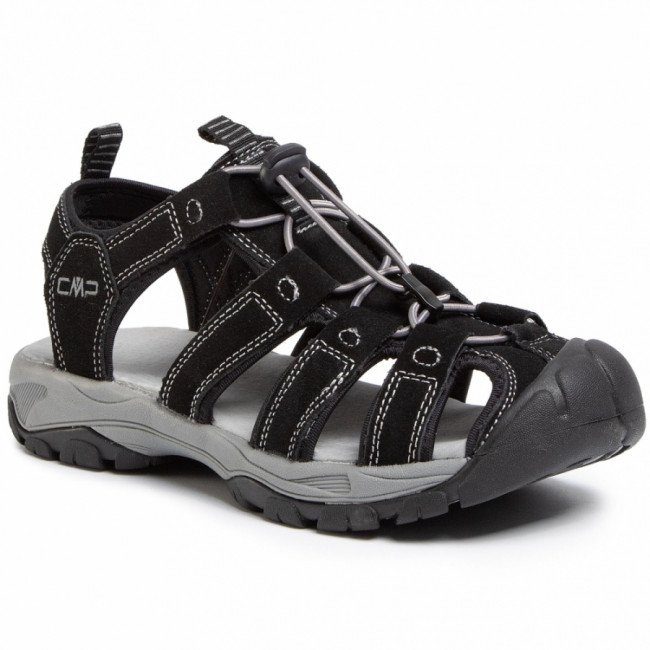 Sandále CMP - Sahiph Leather Hiking Sandal 30Q9507 Nero U901