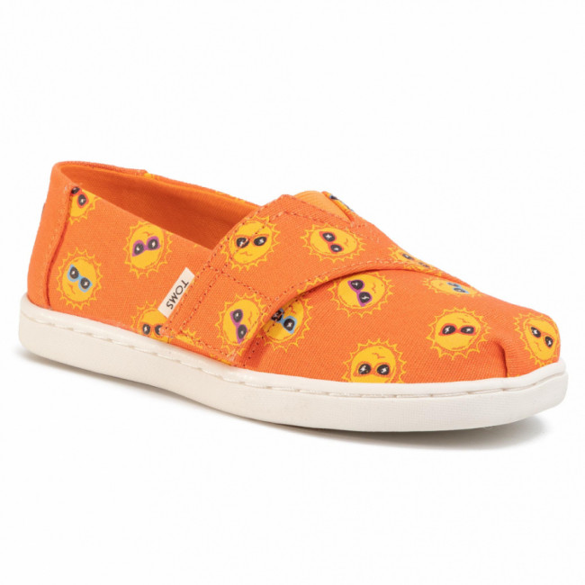 Poltopánky TOMS - Tiny Classic 10015217 Coral Shades For Day Print