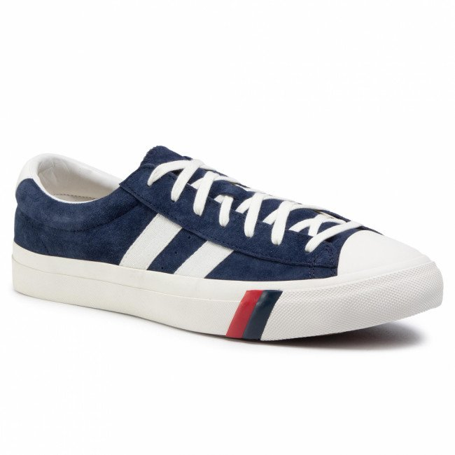Tramky PRO-KEDS - Royal Plus PH56801  Suede Navy