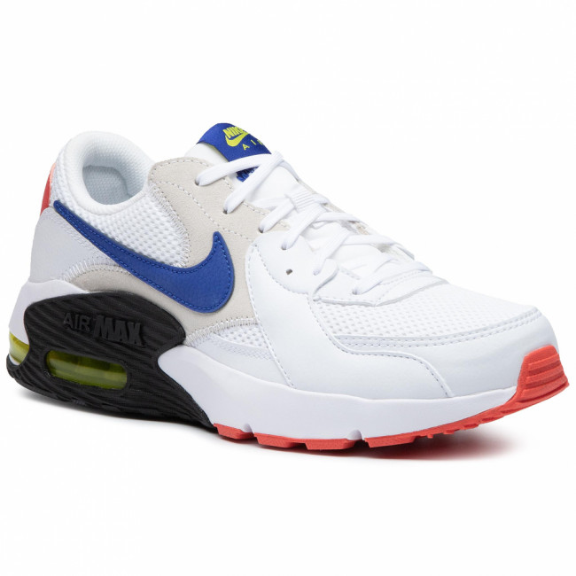 Topánky NIKE - Air Max Excee CD4165 101 White/Hyper Blue/Bright Cactus