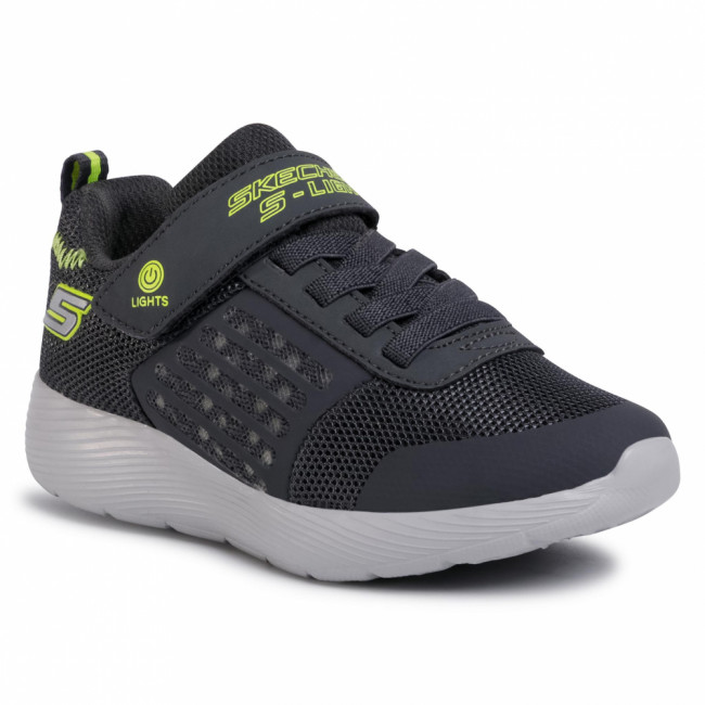Sneakersy SKECHERS - Dyna-Lights 90740L/CCYL Charcoal/Yellow