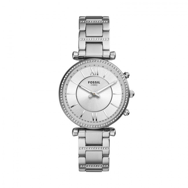 Smart hodinky FOSSIL - Carlie FTW5041 Silver/Silver
