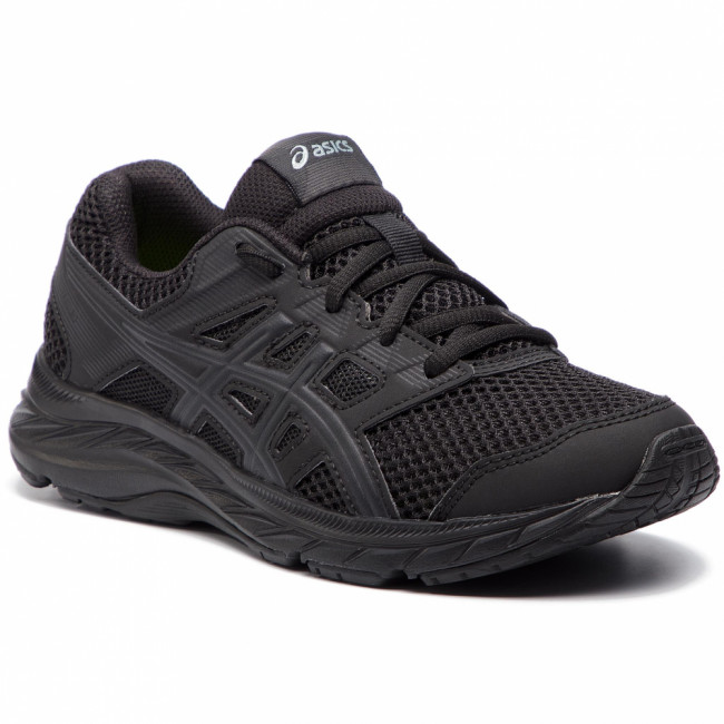 Topánky ASICS - Contend 5 Gs 1014A049  Black/Black 020