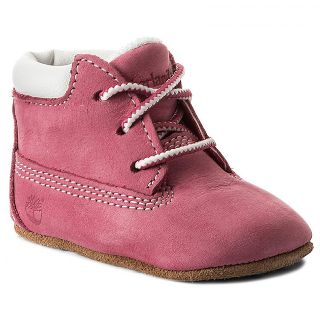Outdoorová obuv TIMBERLAND - Crib Bootie With Hat 9680R/TB09680R6611 Pink/Pink