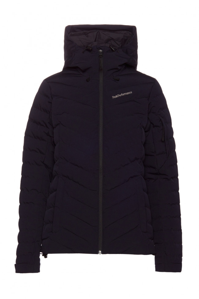 Bunda Peak Performance W Fros Skj Active Ski Jacket - Čierna