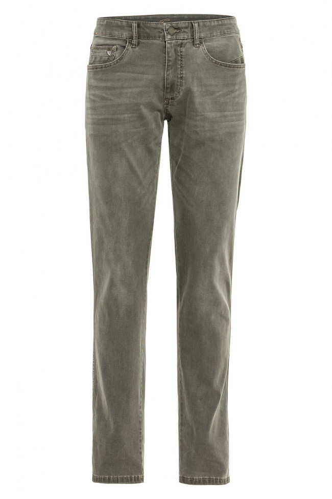 Džínsy Camel Active 5-Pocket Madison - Zelená