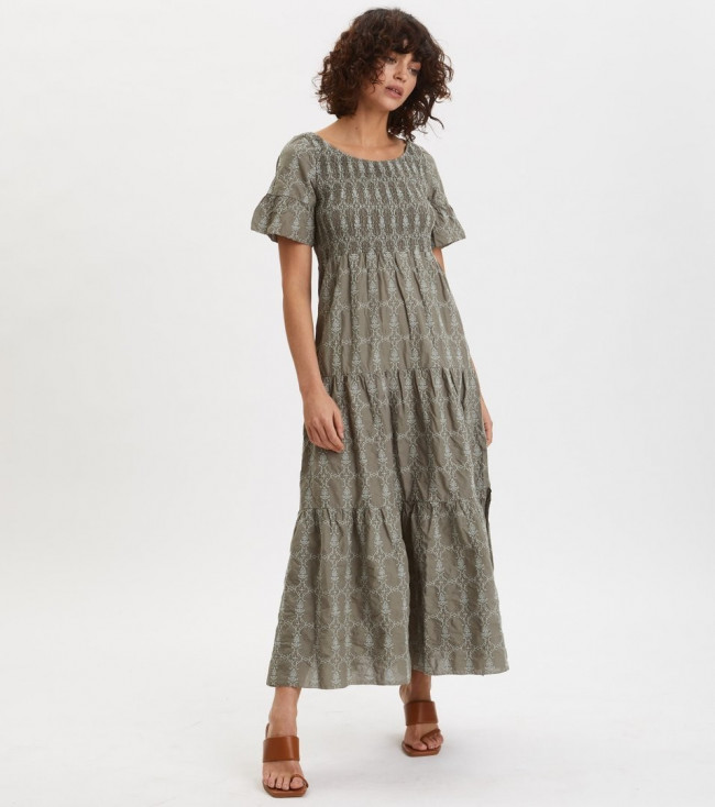 Šaty Odd Molly Powerful Cotton Dress - Zelená