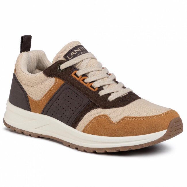 Sneakersy LANETTI - MP07-91232-01 Brown