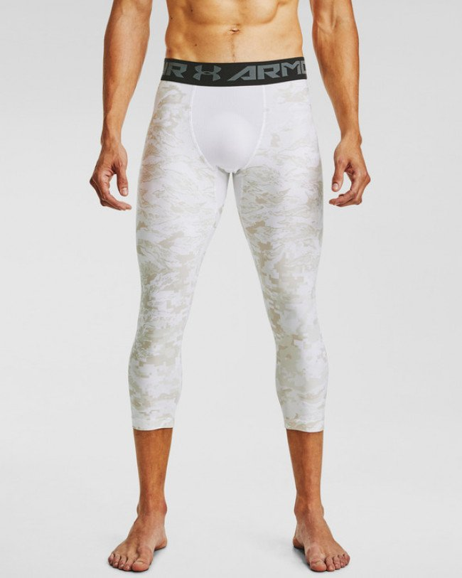 Under Armour HeatGear® Printed Legínsy Biela