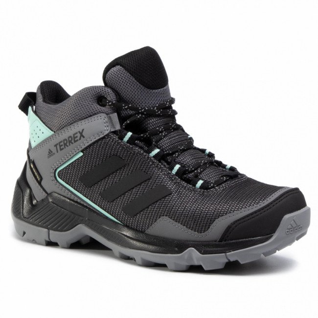 Topánky adidas - Terrex Eastrail Mid Gtx W GORE-TEX F36762 Grey Four/Core Black/Clear Mint