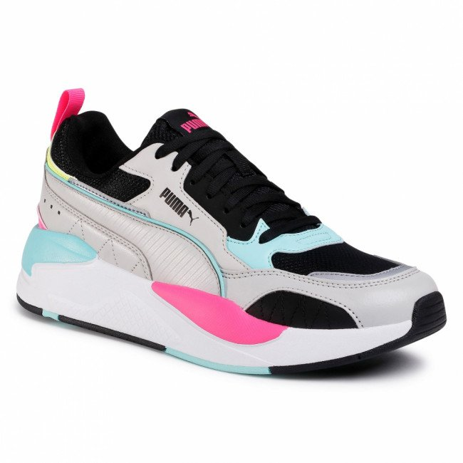 Sneakersy PUMA - X-Ray 2 Square 373108 04 Gray Violet/Black/Aruba Blue