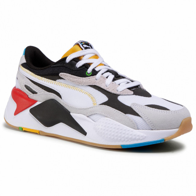 Sneakersy PUMA - RS-X³ Wh 373308 01 Puma White/Puma Black